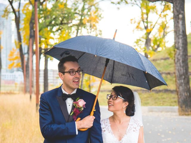 Matt and Susan's wedding in Calgary, Alberta 14
