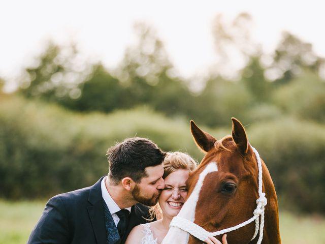 Michael and Sarah's wedding in Sebright, Ontario 1
