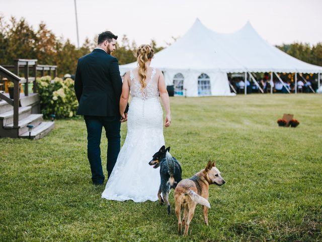 Michael and Sarah's wedding in Sebright, Ontario 4