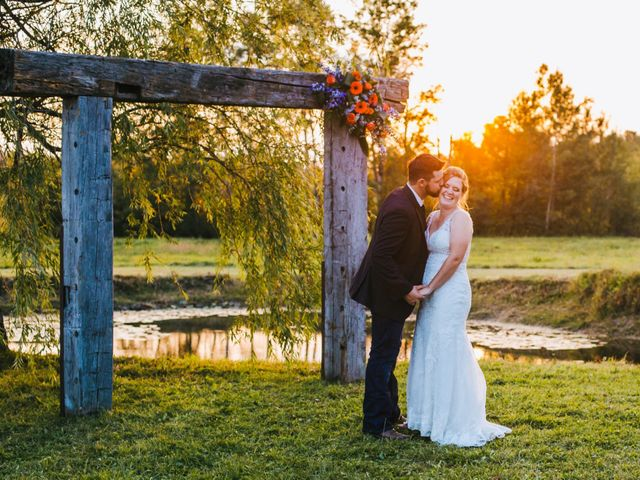 Michael and Sarah's wedding in Sebright, Ontario 5