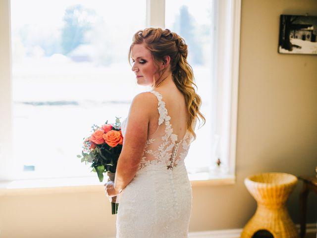 Michael and Sarah's wedding in Sebright, Ontario 8