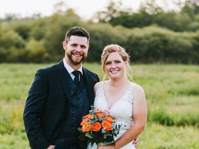 Michael and Sarah's wedding in Sebright, Ontario 9