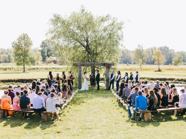 Michael and Sarah's wedding in Sebright, Ontario 11