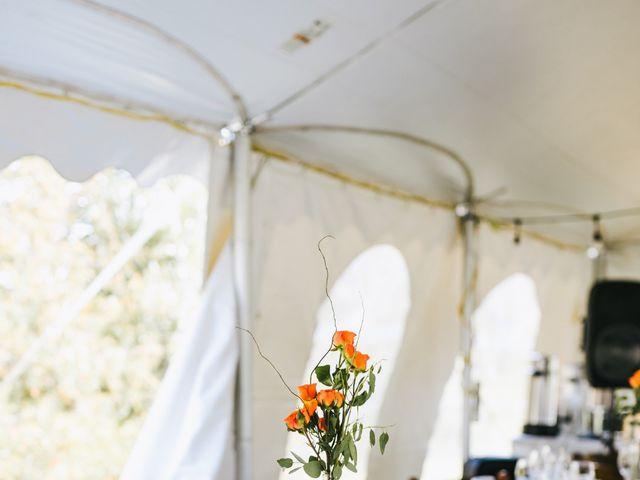 Michael and Sarah's wedding in Sebright, Ontario 12