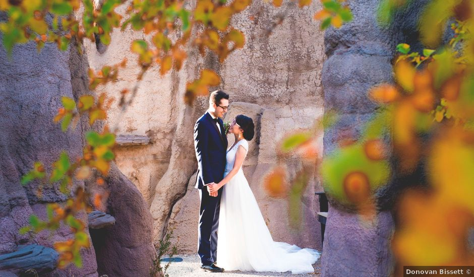 Matt and Susan's wedding in Calgary, Alberta