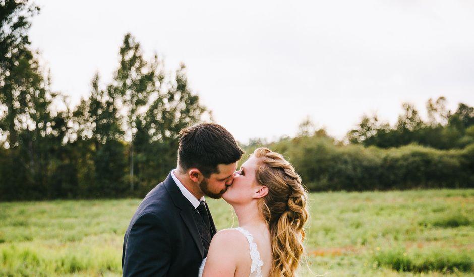 Michael and Sarah's wedding in Sebright, Ontario