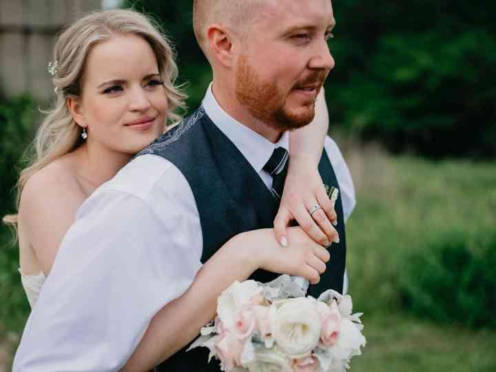 The wedding of Emma and Josh