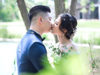 The wedding of Vannesa and Andy