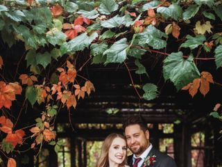 The wedding of Renae and Rick