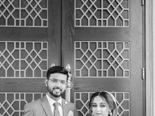 The wedding of Sanaa and Raza 2
