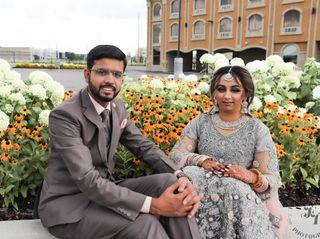 The wedding of Sanaa and Raza 3