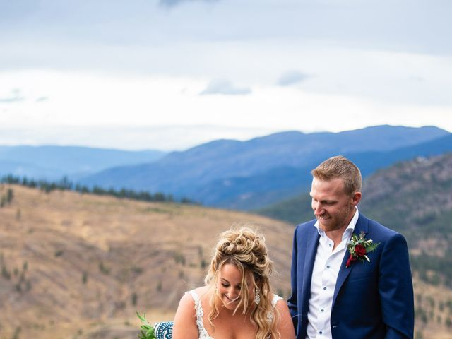 Rich and Kate's wedding in Penticton, British Columbia 18