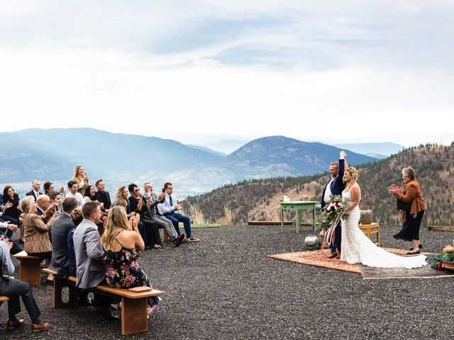 Rich and Kate's wedding in Penticton, British Columbia 22