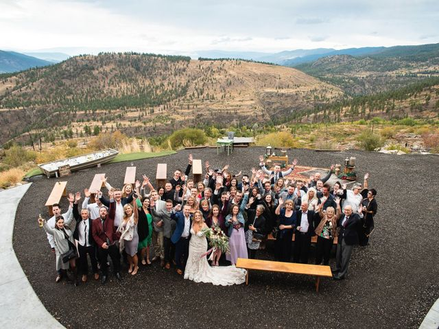 Rich and Kate's wedding in Penticton, British Columbia 23