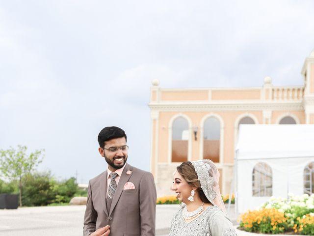 The wedding of Sanaa and Raza
