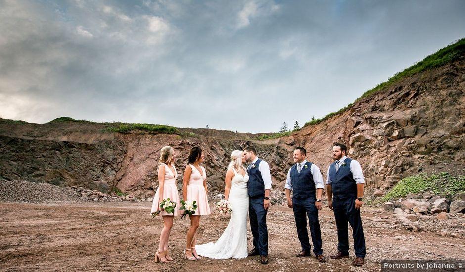 Michelle and Chad's wedding in Truro, Nova Scotia