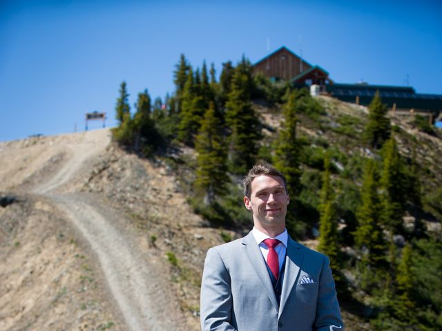Cory and Michelle's wedding in Golden, British Columbia 14