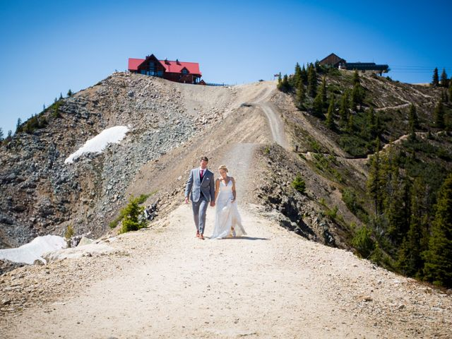 Cory and Michelle's wedding in Golden, British Columbia 21