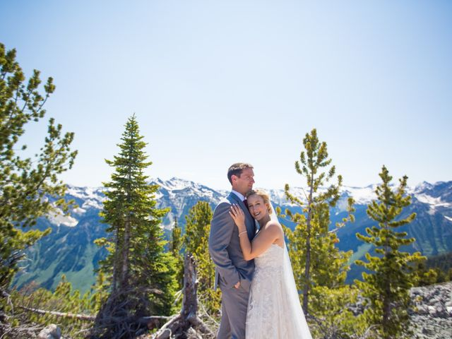 Cory and Michelle's wedding in Golden, British Columbia 23