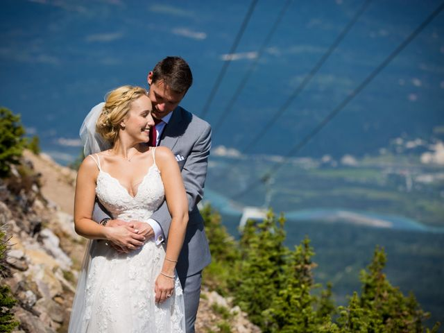 Cory and Michelle's wedding in Golden, British Columbia 24