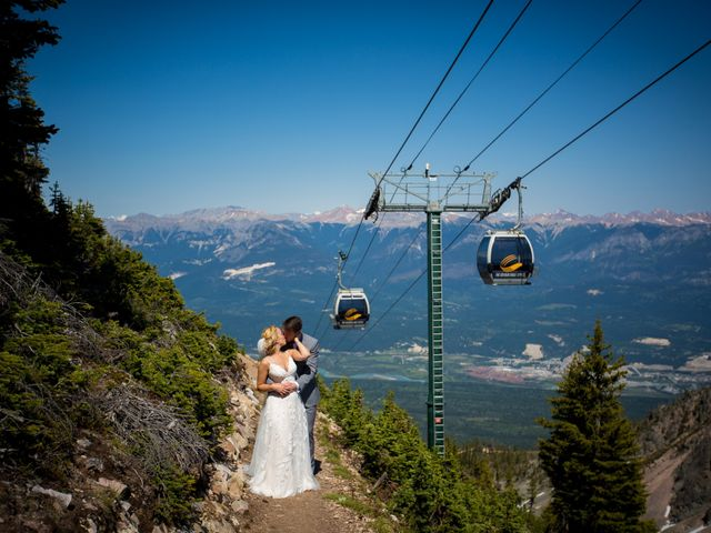 Cory and Michelle's wedding in Golden, British Columbia 25