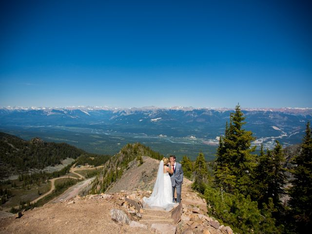 Cory and Michelle's wedding in Golden, British Columbia 26