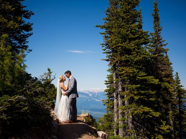 Cory and Michelle's wedding in Golden, British Columbia 29