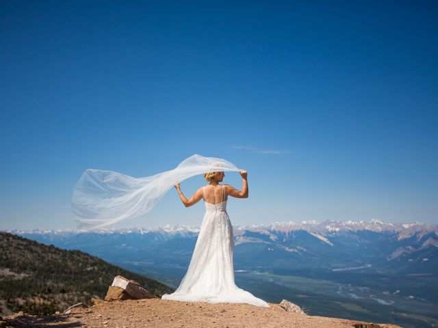 Cory and Michelle's wedding in Golden, British Columbia 33
