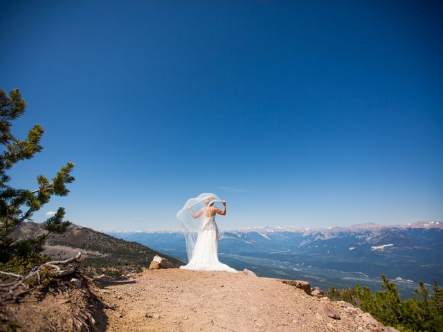 Cory and Michelle's wedding in Golden, British Columbia 34