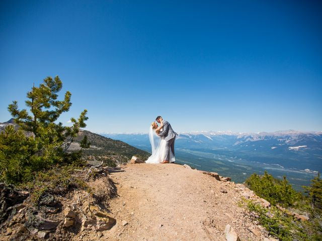 Cory and Michelle's wedding in Golden, British Columbia 35