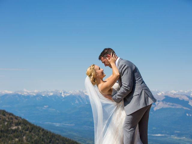 Cory and Michelle's wedding in Golden, British Columbia 36