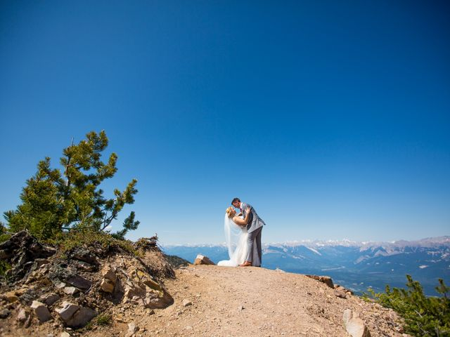 Cory and Michelle's wedding in Golden, British Columbia 37