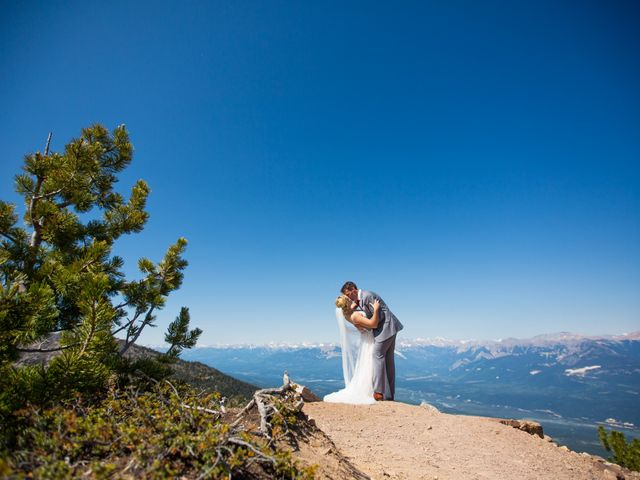 Cory and Michelle's wedding in Golden, British Columbia 38