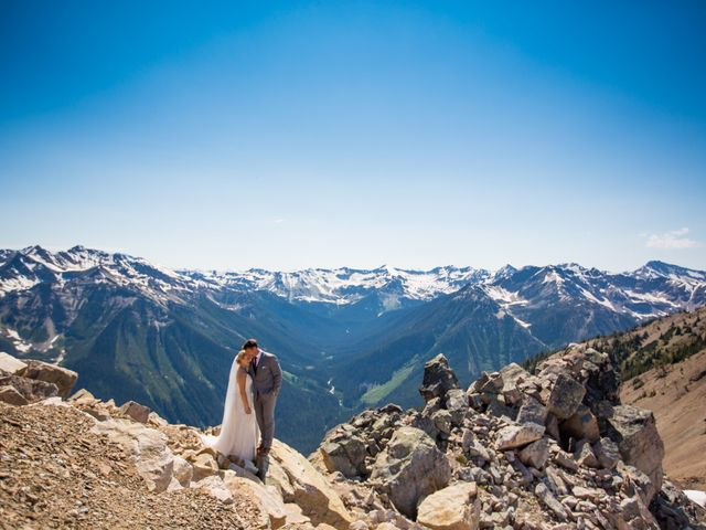 Cory and Michelle's wedding in Golden, British Columbia 39