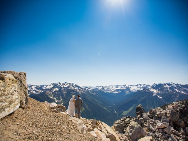 Cory and Michelle's wedding in Golden, British Columbia 40