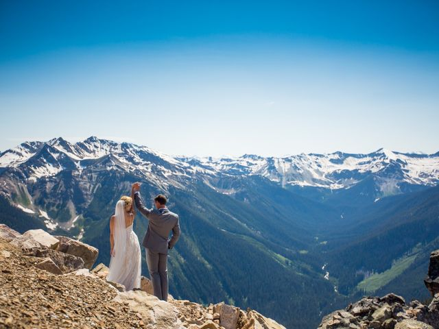 Cory and Michelle's wedding in Golden, British Columbia 41