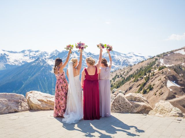 Cory and Michelle's wedding in Golden, British Columbia 44