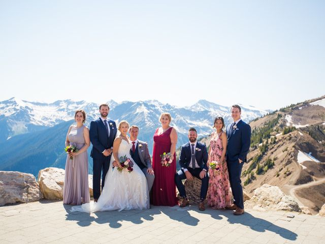 Cory and Michelle's wedding in Golden, British Columbia 49