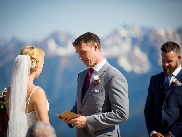 Cory and Michelle's wedding in Golden, British Columbia 59
