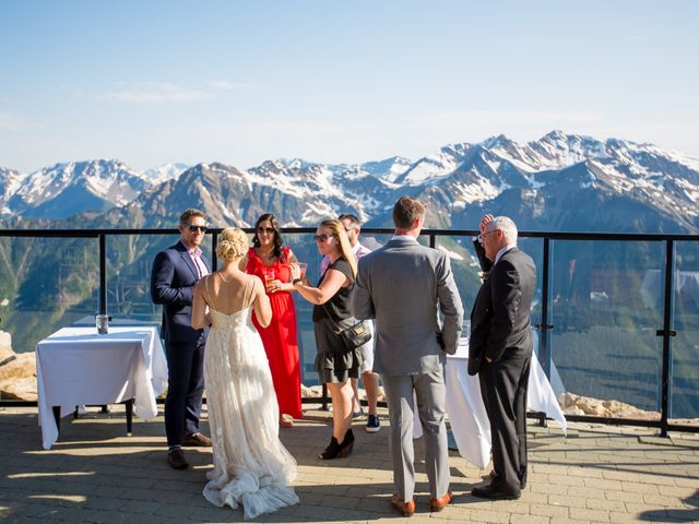 Cory and Michelle's wedding in Golden, British Columbia 69