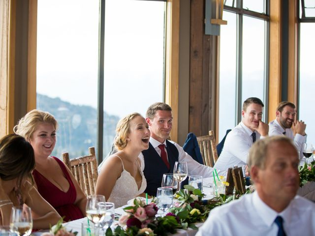 Cory and Michelle's wedding in Golden, British Columbia 74