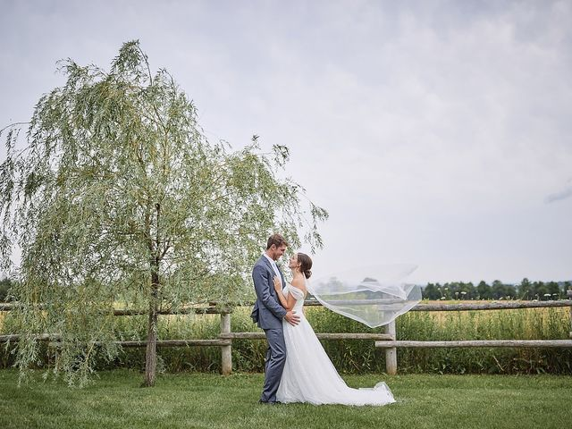 Meriah and Jacob's wedding in Bradford, Ontario 29