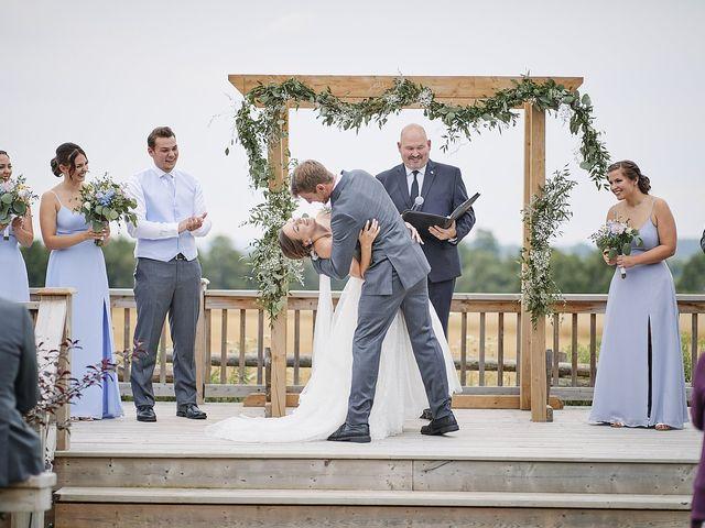 Meriah and Jacob's wedding in Bradford, Ontario 1
