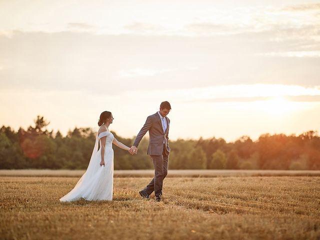 Meriah and Jacob's wedding in Bradford, Ontario 2