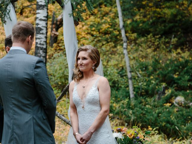 Aaron and Lisa's wedding in Canmore, Alberta 6