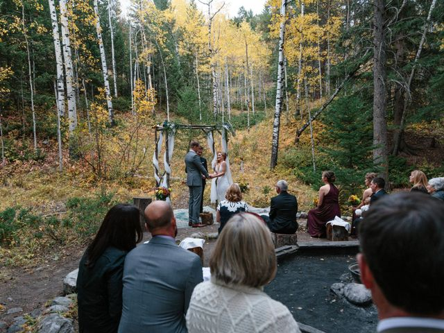 Aaron and Lisa's wedding in Canmore, Alberta 7