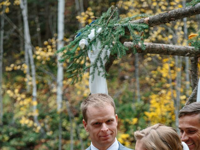 Aaron and Lisa's wedding in Canmore, Alberta 8