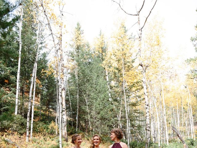 Aaron and Lisa's wedding in Canmore, Alberta 14