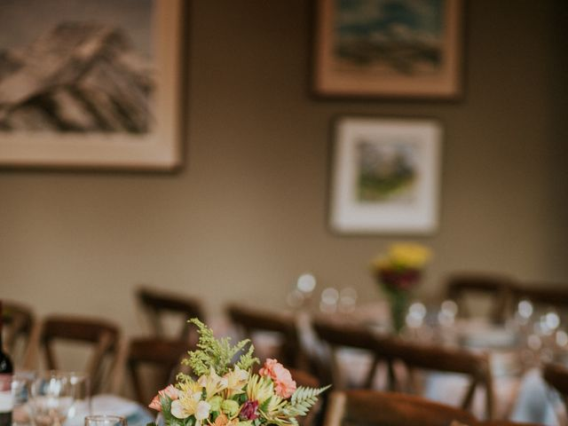 Aaron and Lisa's wedding in Canmore, Alberta 18