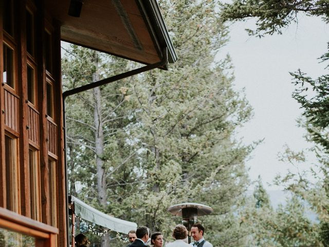 Aaron and Lisa's wedding in Canmore, Alberta 21